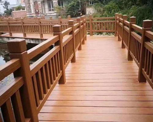 水泥仿木铺板生产