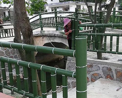 桥梁仿竹护栏