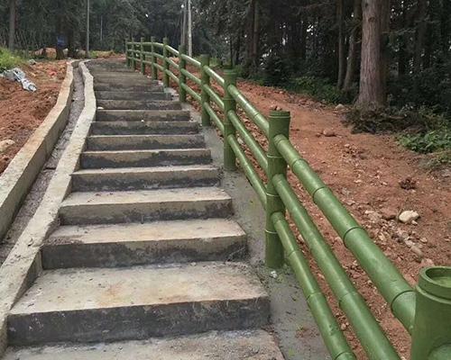 兴国景区防竹栏杆