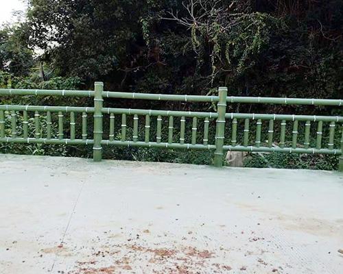 南昌道路仿竹护栏