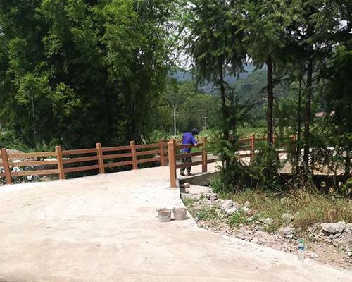 桥梁仿木护栏