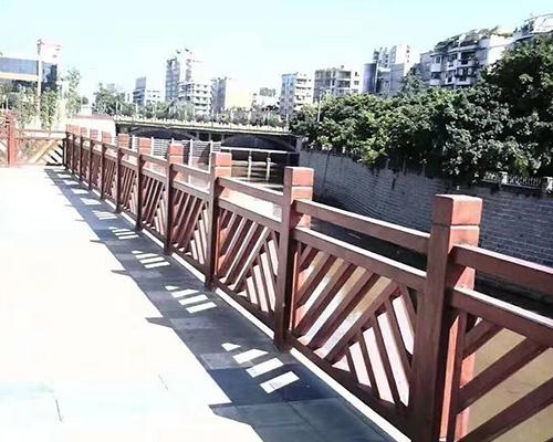 南昌市政绿化护栏